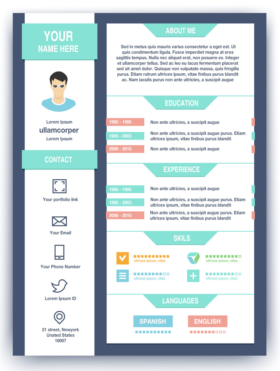 How to create a high impact graphic designer resume preview altavistaventures Image collections