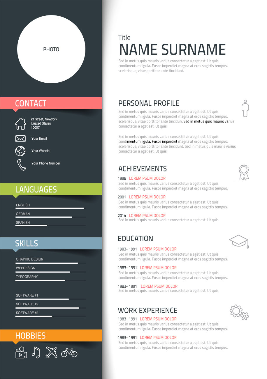 Designer Resume these are the best worst fonts to use on your resume using times Template 03