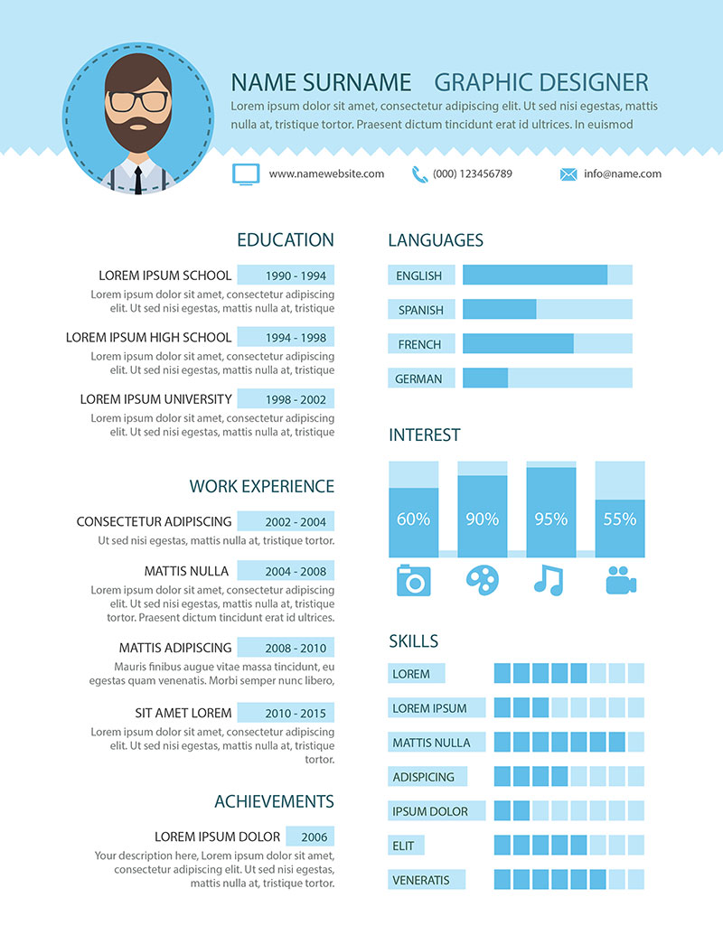 preview - Graphic Designer Resume