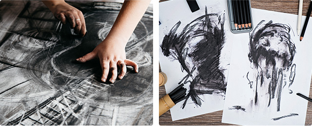 Charcoal Illustrations