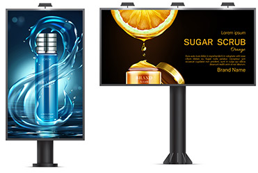 Outdoor Banners and Billboards