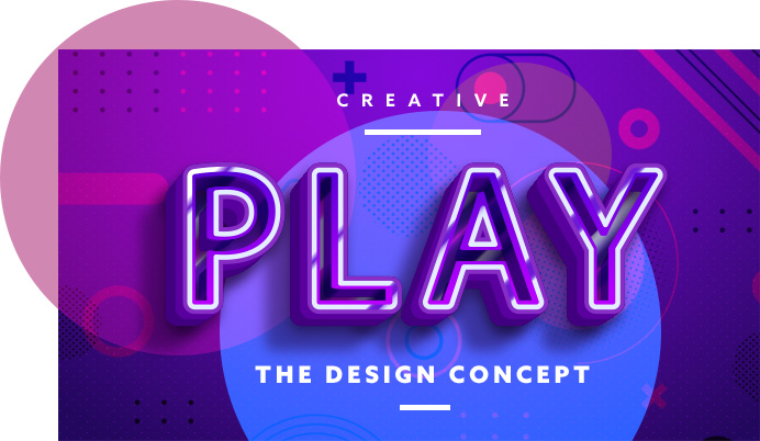 Creating Strong Graphics with Saturation and Bold Typeface