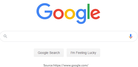 Google Website Screenshot