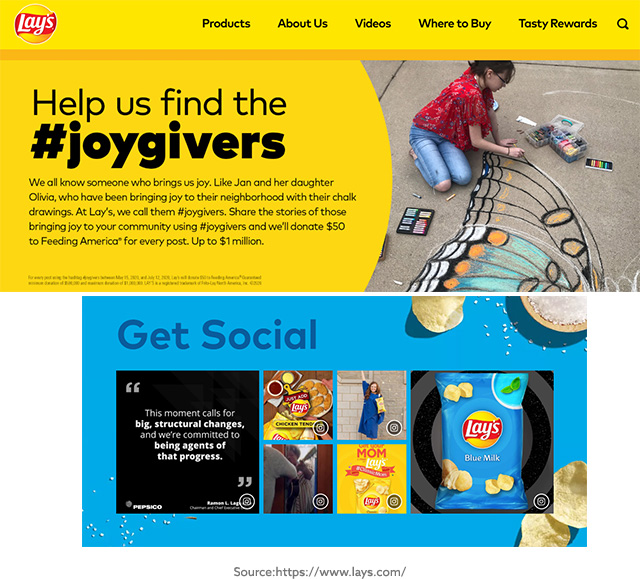 Lays Website Screenshot
